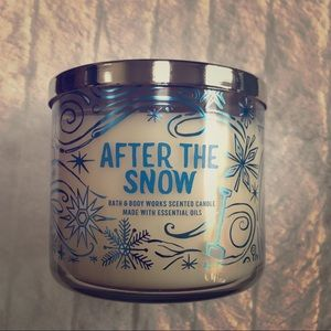 Bath & Body Works After The Snow Jar Candle